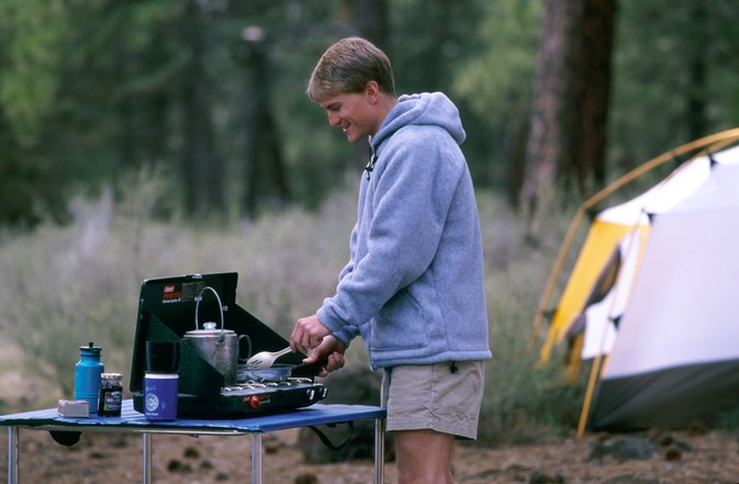 Safety in Using a Liquid Fuel Camping Stove