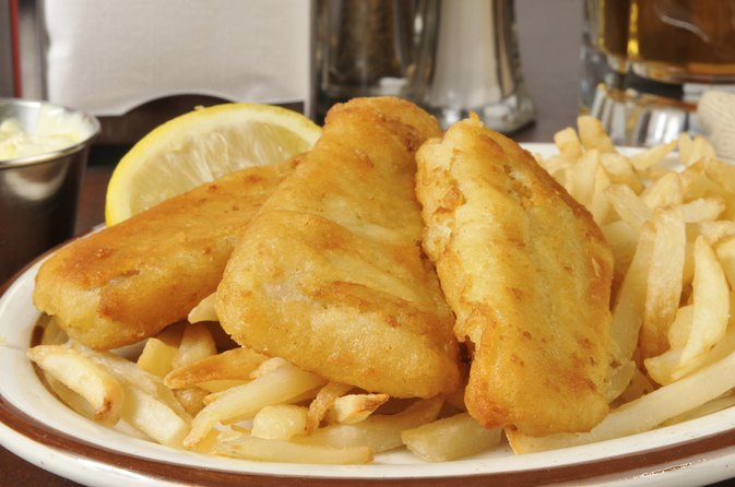 Nutrition information on cracker barrel fish livestrong com for Buttermilk fish batter