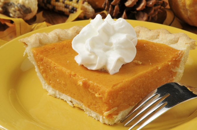 The Calories in a Slice of Sweet Potato Pie