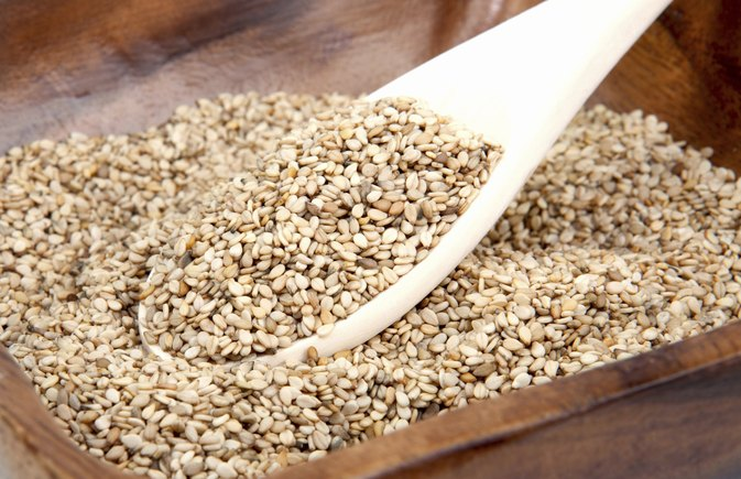 Fat Content of Sesame Seeds
