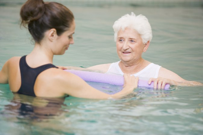 Aquatic Rotator Cuff Exercises