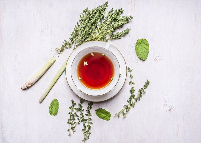 Herbal Tea for Colds & Allergies
