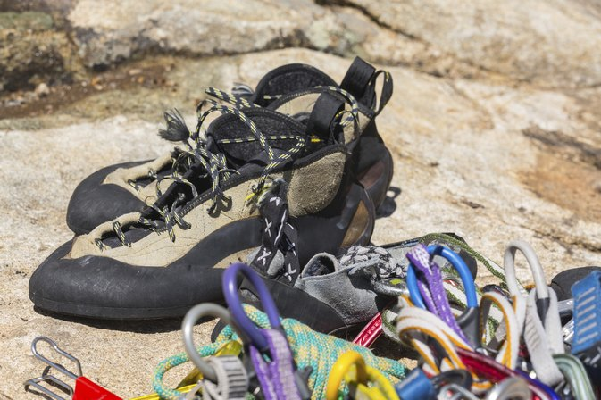 How to Break in Climbing Shoes