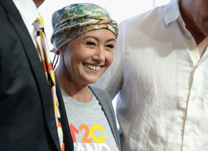 Shannen Doherty's Gutsy Post-Chemo Dance Is the Best Thing on Social Media