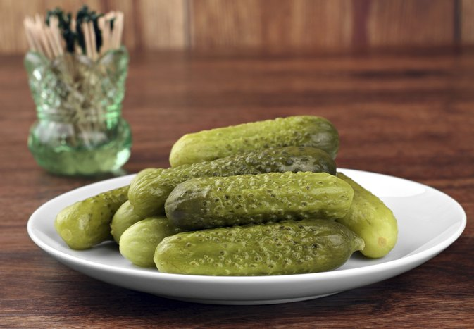 Glycemic Index for Dill Pickles
