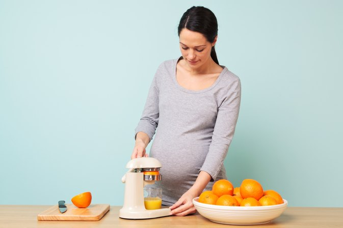 Are their Benefits to Juicing During Pregnancy?