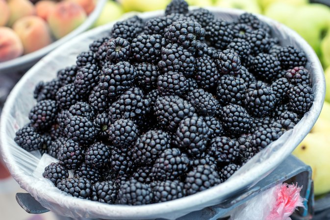 Vitamins in Blackberries
