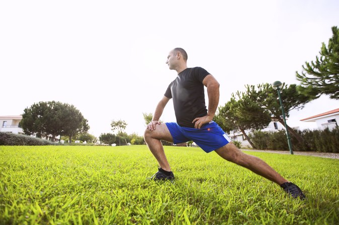 What Causes Knee Pain While Lunging?