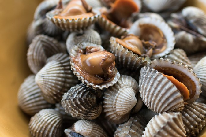 The Nutritional Information for Cockles