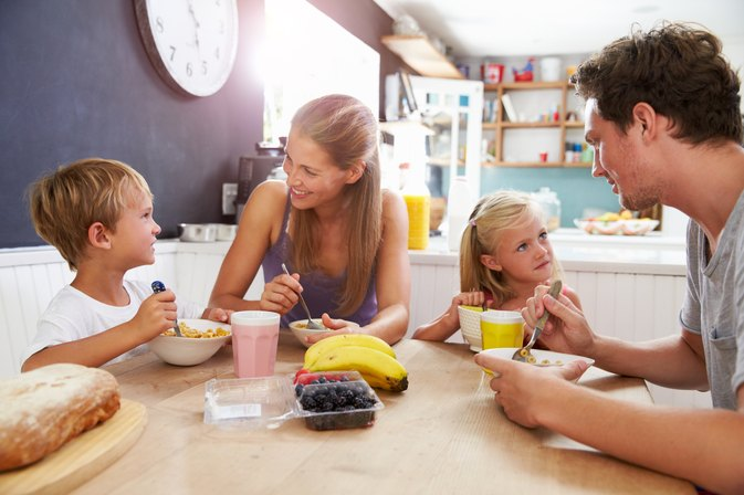 Bad Eating Habits in Children Because of Their Parents and Family