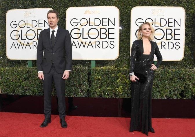 Kristen Bell Gets Super Honest About Her Golden Globes Dress Secret