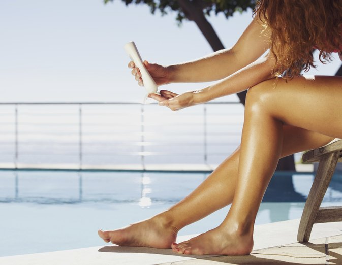 Sunless Tanning Lotion Dangers