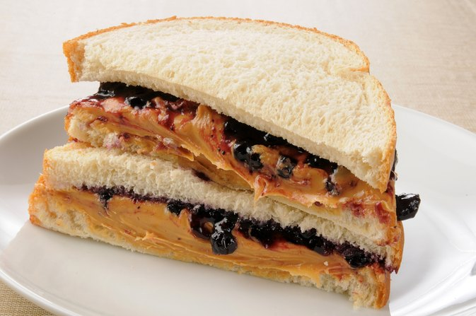 The Carbohydrates in a Peanut Butter & Jelly Sandwich