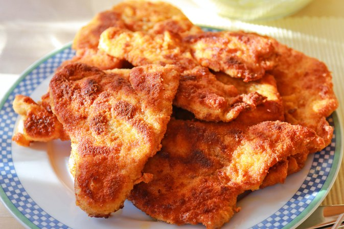 How to Cook Frozen Schnitzel