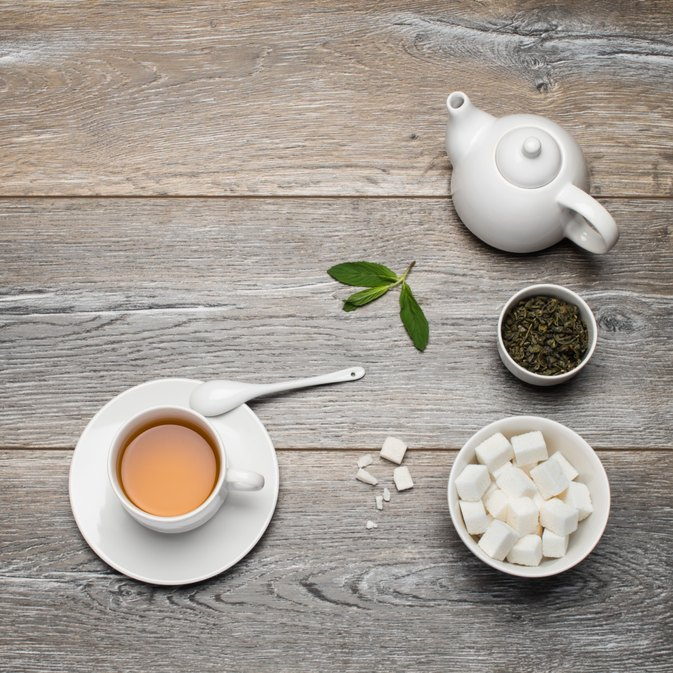 How Many Calories Are in a Cup of Tea With Two Sugars?