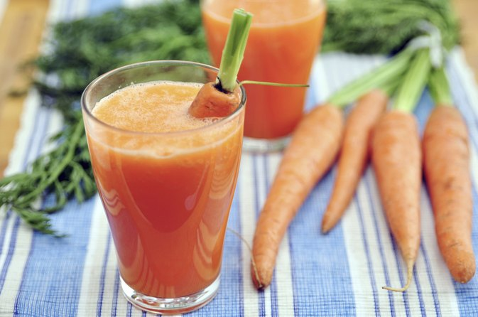 Health Benefits of Drinking Carrot Juice