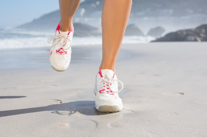 Heel Walking Exercise