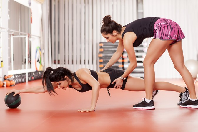 Medicine Ball Exercises for Women