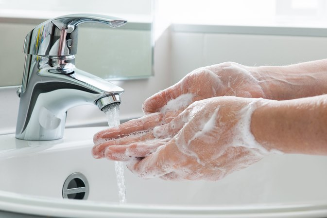Hand Washing Vs. Hand Sanitizer
