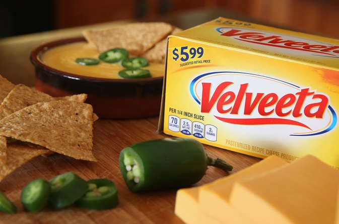 Velveeta Cheese Nutritional Facts