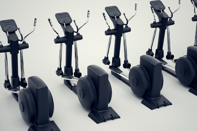 An Elliptical Interval-Training Workout