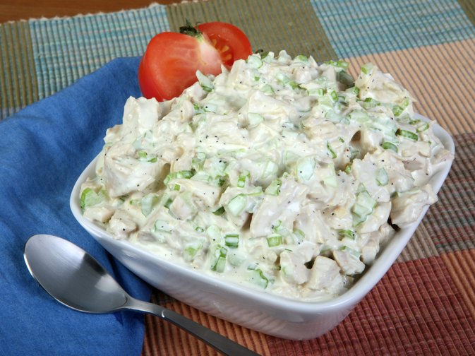Calories in a Cup of Chicken Salad