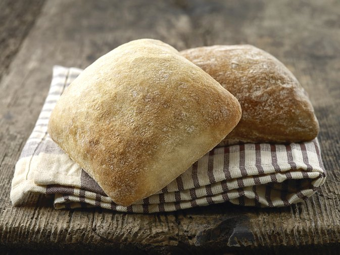 Nutrition Information for a Ciabatta Roll