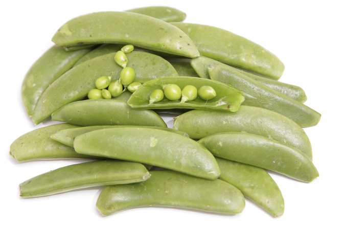 Fiber in Sugar Snap Peas