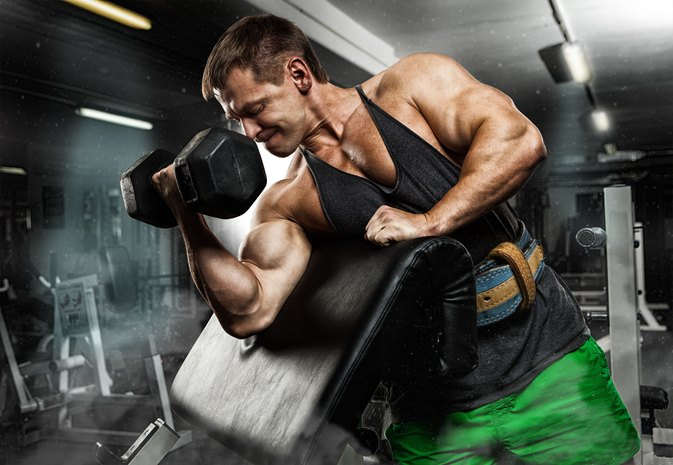 Can You Get Ripped Biceps Without Using Protein Shakes?