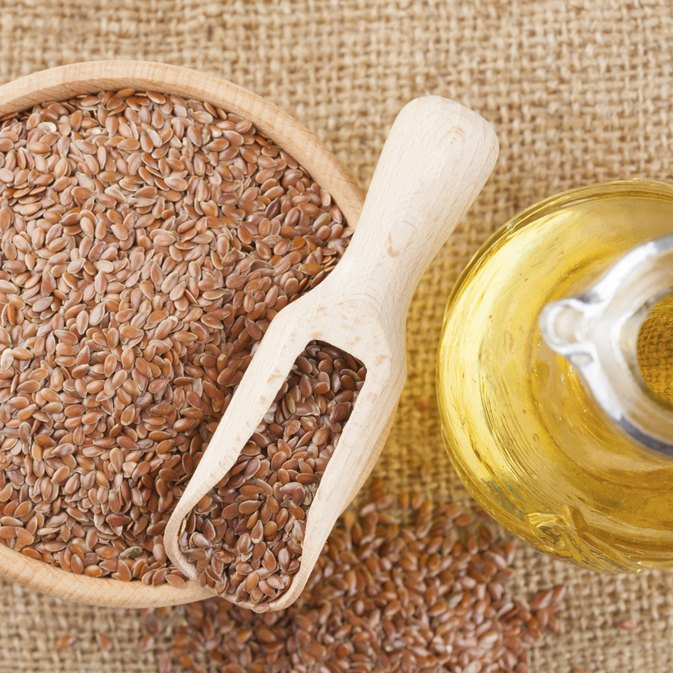 Flaxseed Oil Vs. Mineral Oil for Constipation