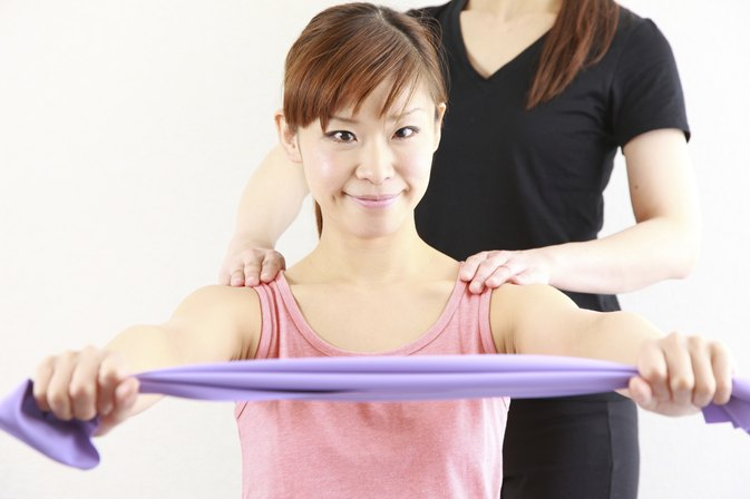 Effective Arm Workouts for Women With Resistance Bands