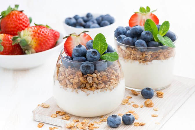 Yogurt as a Protein Snack for Bodybuilding