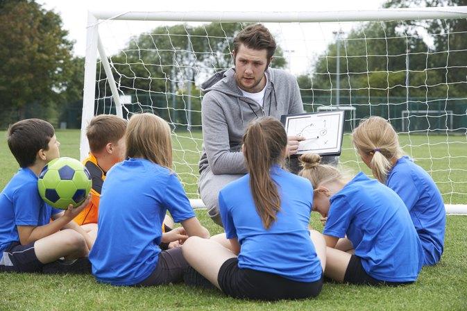 Hasil gambar untuk soccer coach explain
