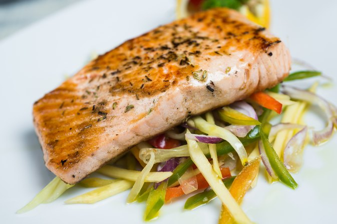 What are the benefits of eating salmon fish livestrong com for Salmon fish pictures