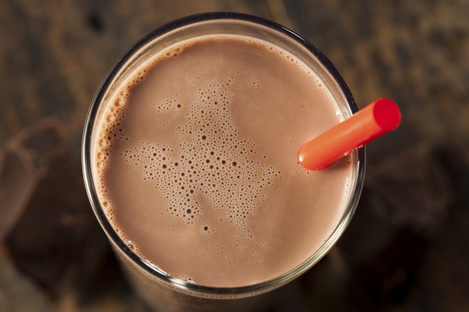 Chocolate Milk Vs. Protein Shake