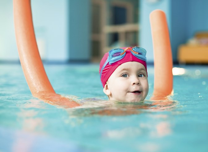 Swimming Pool Games for 5-Year-Olds