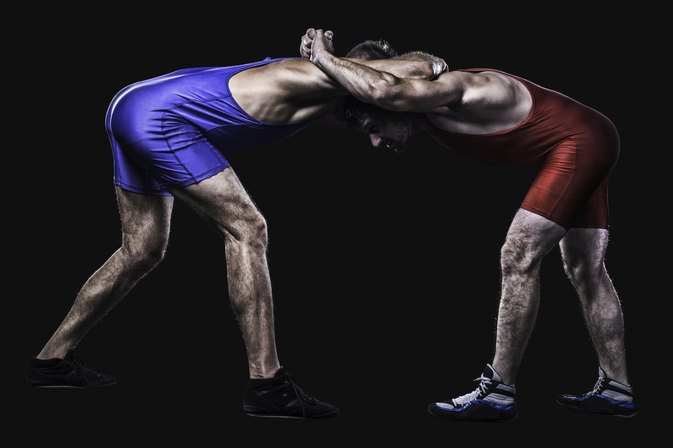 High School Wrestling Moves & Rules