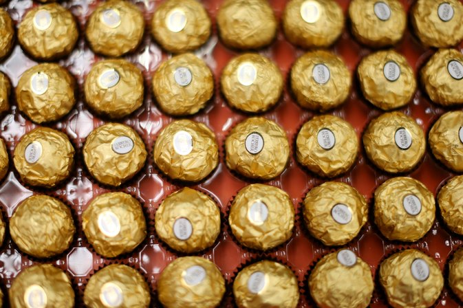Ferrero Rocher Nutrition