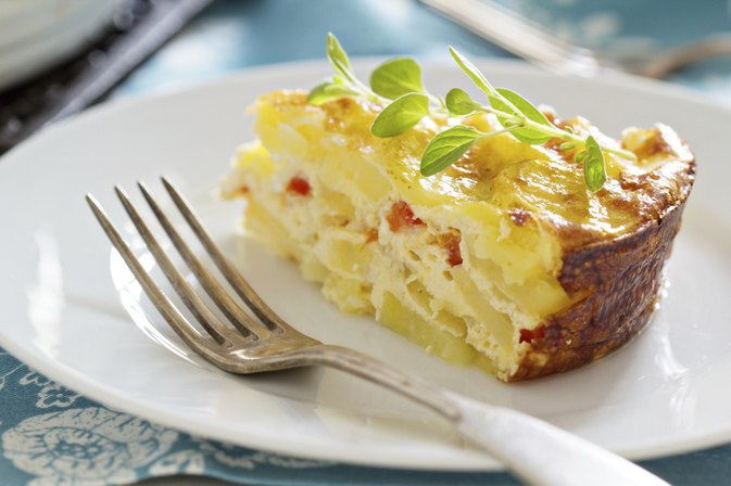 Make Ahead Egg Casserole