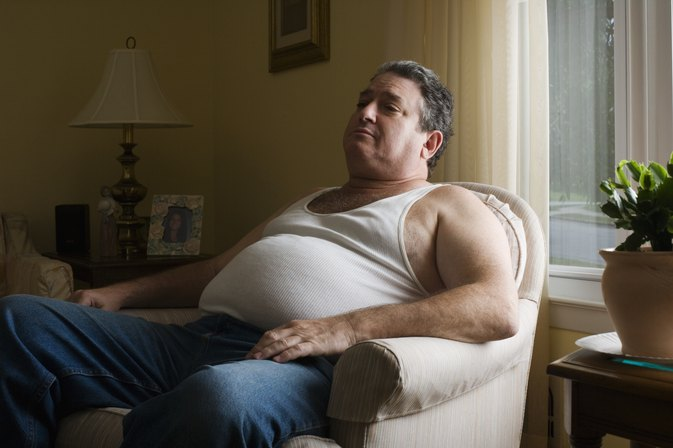 Obesity Caused by Overeating & Lack of Exercise