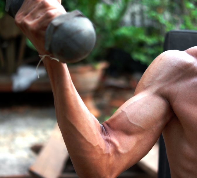 How to Make Your Arms Big Really Fast | LIVESTRONG.COM