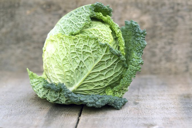 The Nutrition in Cabbage Vs. Lettuce