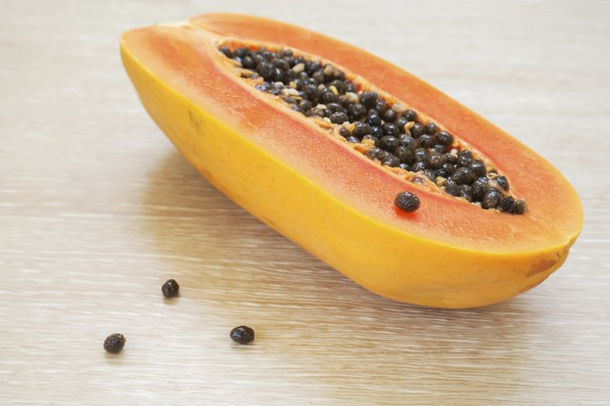 Calories in Papaya Fruit