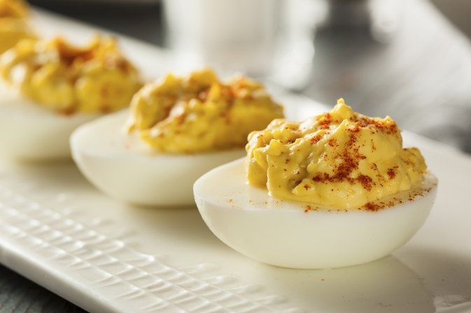 How to Replace Mayo in Deviled Eggs
