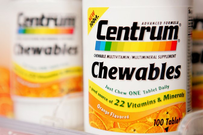 List of Vitamins and Minerals in Centrum