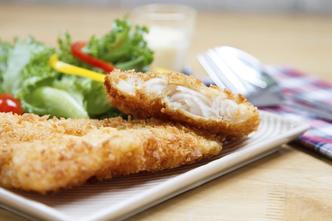 How to Bread Fish for Frying