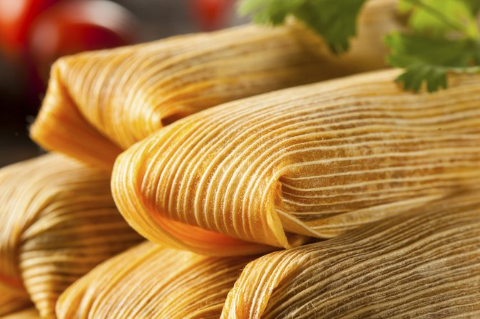The Calories in Homemade Tamales