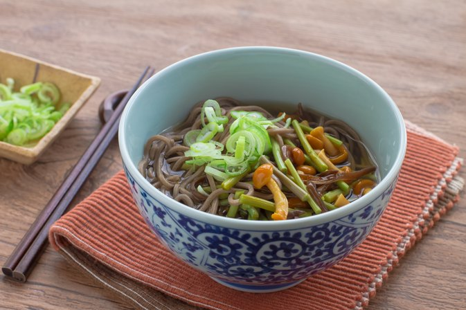 Calories in Vegetable Udon Soup