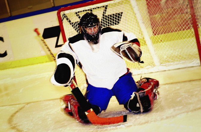 Hockey Goalie Knee Injuries