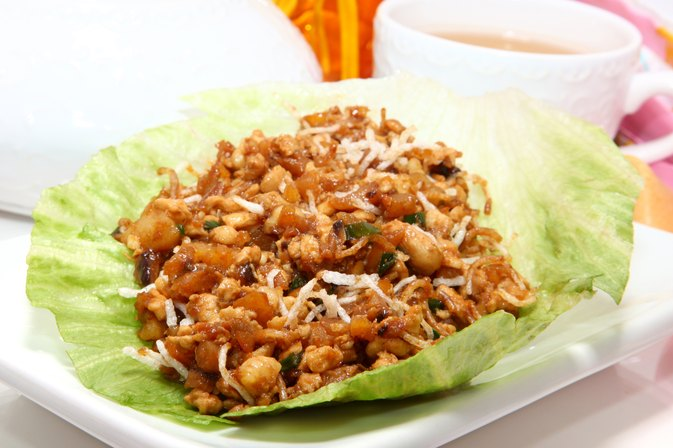 Pei Wei Nutritional Guide for Lettuce Wraps